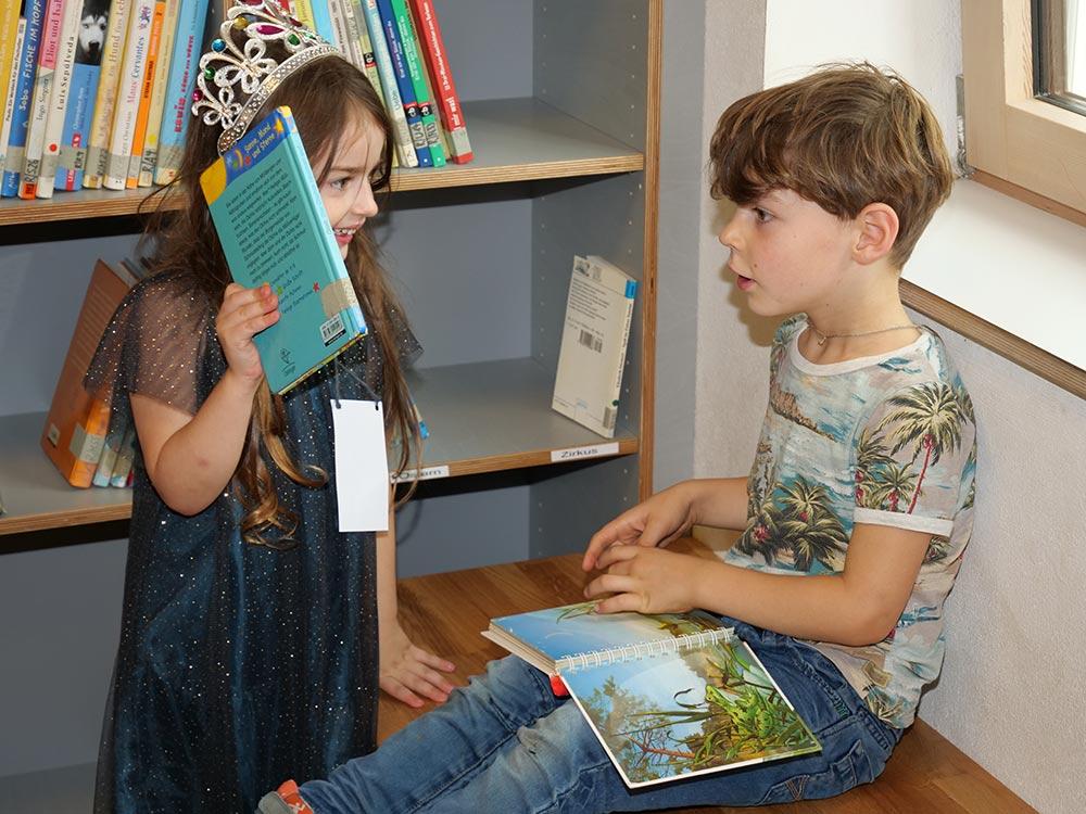 Grundschule Marienthal -  Leselernhelfer