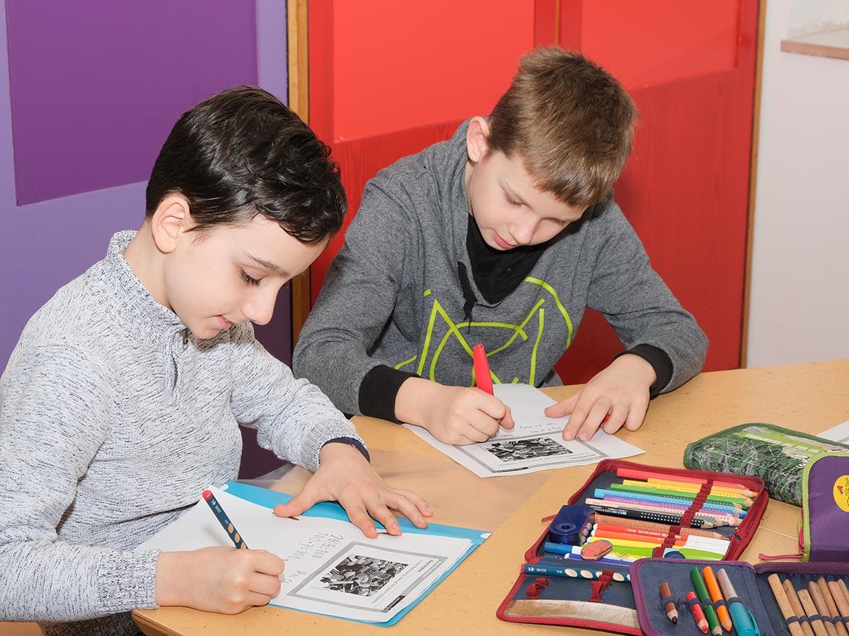 Grundschule Marienthal - Schwerpunkte  Lesen und Musik