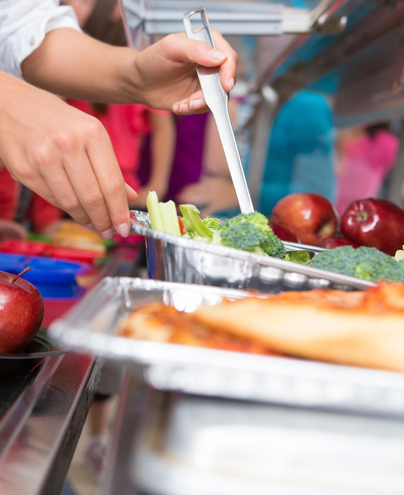 Grundschule Marienthal Mittagessen