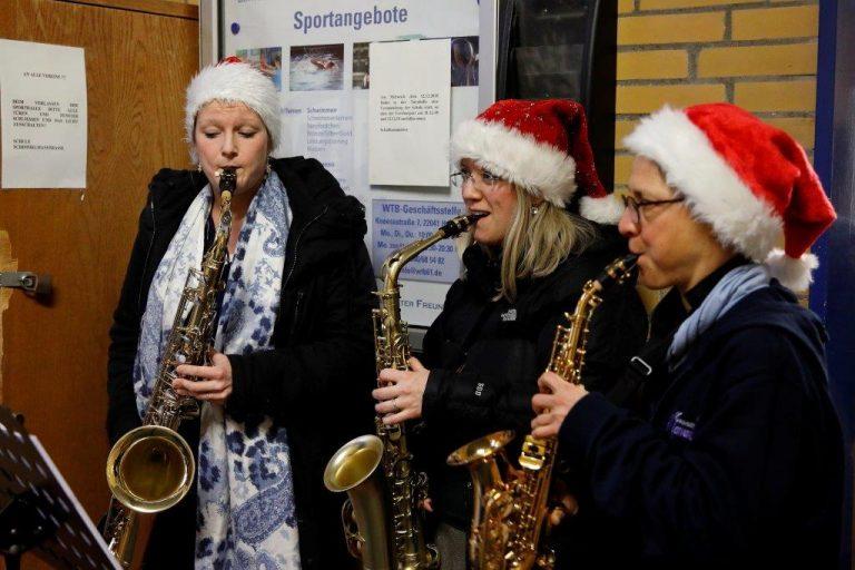 Grundschule Marienthal - Weihnachtssingen 2018
