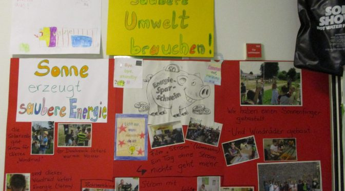 Grundschule Marienthal, Projektwoche Klima- und Umweltschutz
