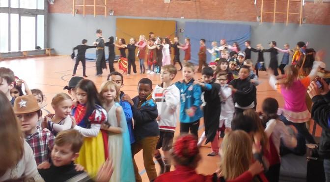 Fasching 2014, Grundschule Marienthal
