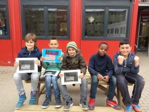 Herstellen englischer Reiseführer für Kinder, Projekt Grundschule Marienthal
