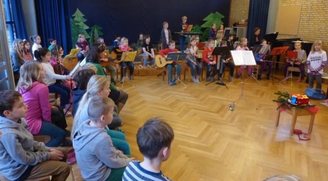 Musiktreff in der Schule Farenkrön