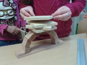 Brücken erforschen, Grundschule Marienthal
